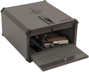 Liberty HDX-250 Smart Vault Biometric Safe - Safely secure your valuables or handgun in the new Home Defender
