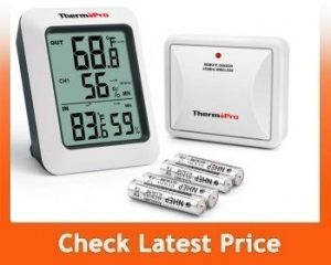 ThermoPro TP605 Digital Hygrometer