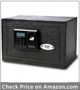 Viking Security Safe VS-20BLX Mini Biometric Safe Fingerprint Safe