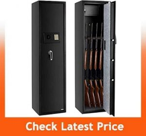 FCH Electronic 5-Gun Rifle Safe Large Firearm Safe Cabinet