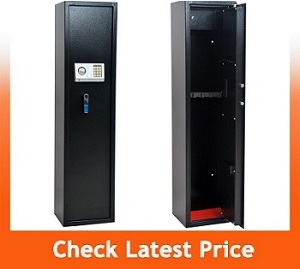 Homegear Large 5 Rifle Electronic Gun Safe for Firearms