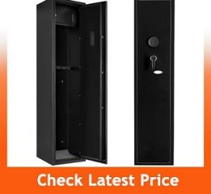 Superday Large 5 Rifle Electronic Gun Safe for Firearms