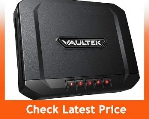 Vaultek Essential Series Quick Access Handgun Safe with Auto-Open Lid Gun Safe